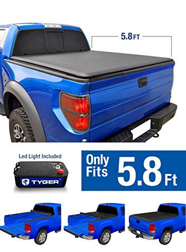 Tyger Auto TG-BC1C9008 TOPRO Roll & Lock Truck Bed Tonneau Cover 2004-2006 Chevy Silverado / GMC Sierra 1500 (Incl. 2007 Classic) | Fleetside 5.8' Bed. For product info go to:  https://www.caraccessoriesonlinemarket.com/tyger-auto-tg-bc1c9008-topro-roll-lock-truck-bed-tonneau-cover-2004-2006-chevy-silverado-gmc-sierra-1500-incl-2007-classic-fleetside-5-8-bed/