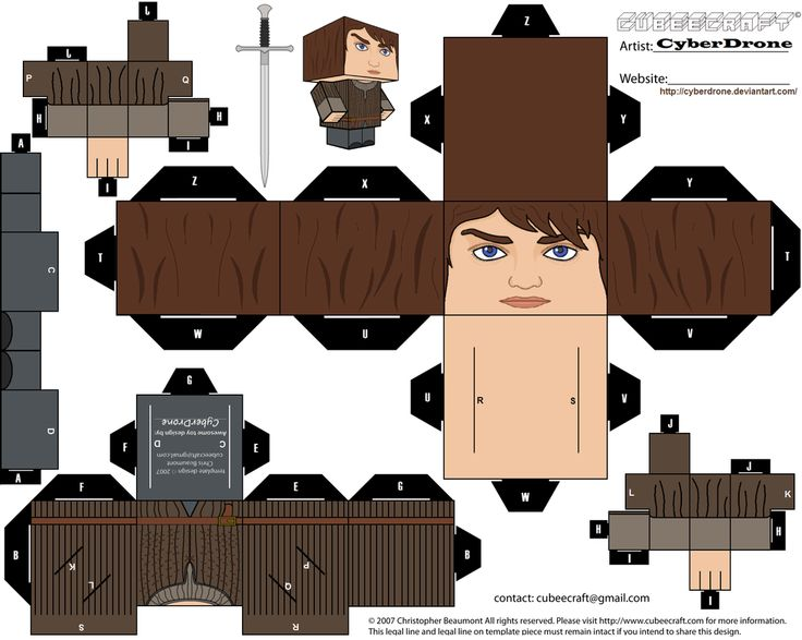 Cubee - Arya Stark by CyberDrone.deviantart.com on @deviantART