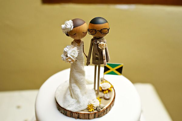 Love this! My fiance is Jamaican and he would be super excited to have his culture represented into the wedding decor.    sasha-jamaican-destination-wedding-munaluchi62