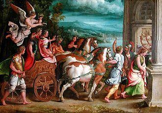 Dinastia flaviana – Wikipédia, a enciclopédia livre