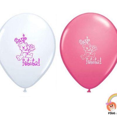 baloane-botez-fetita-roz