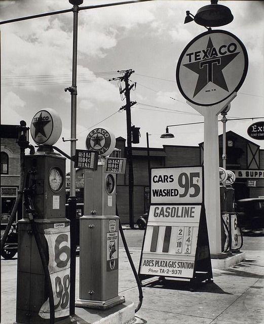 Texaco Gas Station
