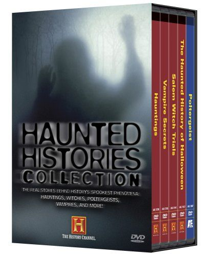 Haunted History: Haunted Histories Collection (Hauntings / Vampire Secrets / Salem Witch Trials / The Haunted History of Halloween / Poltergeist) (History Channel) A&E http://www.amazon.com/dp/B000S0GYMK/ref=cm_sw_r_pi_dp_G7Zlvb1DM5X9Y