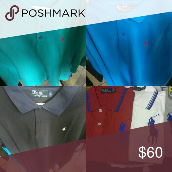 Polo collar shirts New sizes vary per color Polo by Ralph Lauren Shirts Casual Button Down Shirts