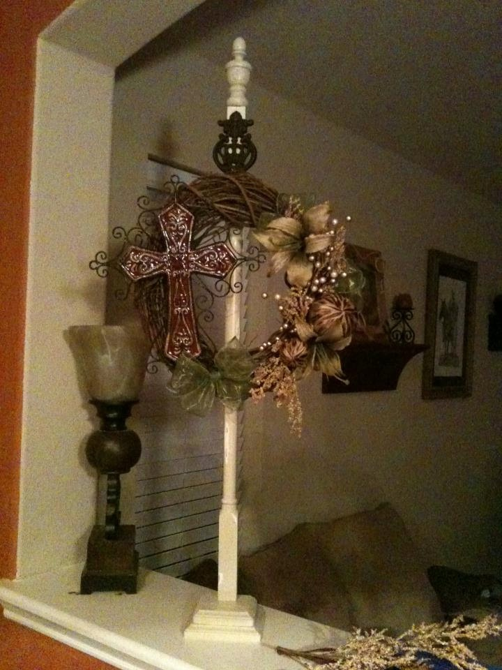 46 Best Images About Wreath Stands Amp Welcome Posts On