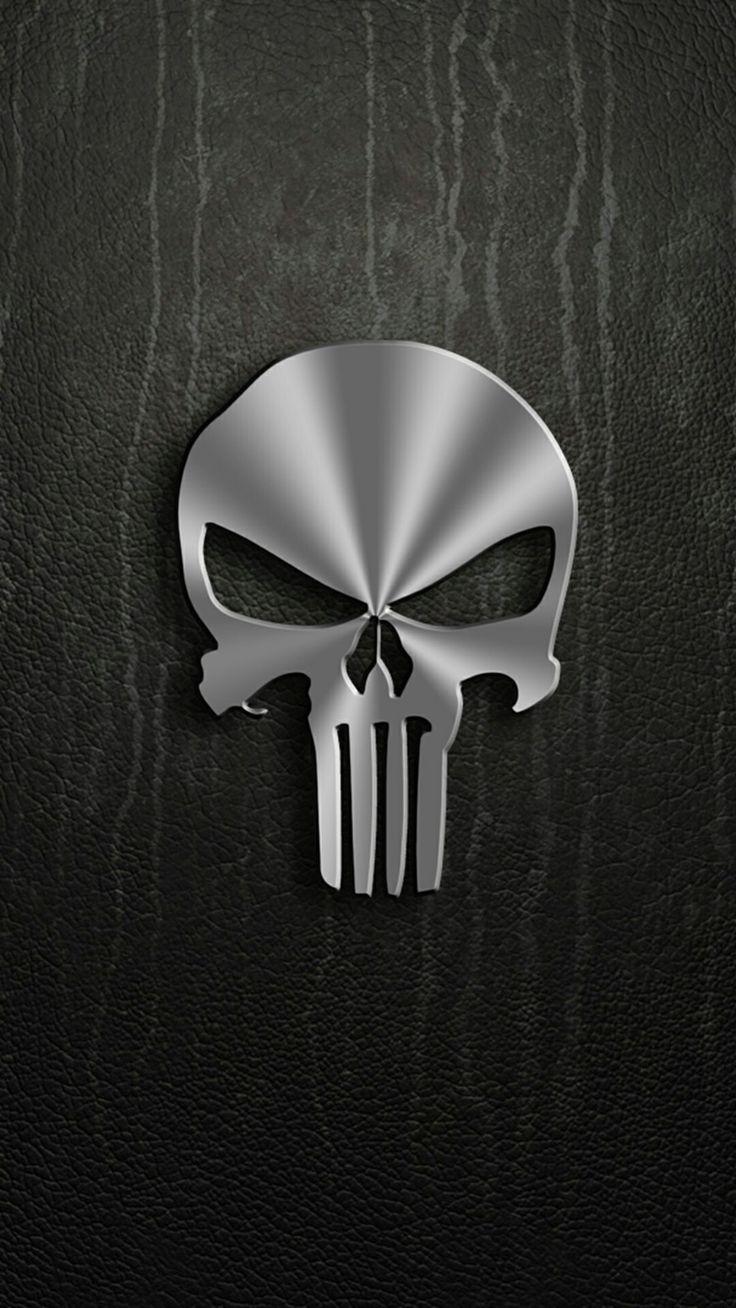Best 25 punisher skull ideas only on pinterest punisher - Skull wallpaper iphone 6 ...