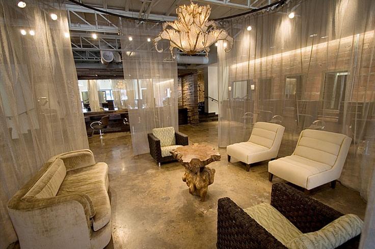 Cool chandelier - Osgood O\'Neil Salon | Decor - Lighting ...