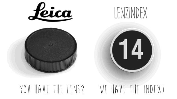 LenzIndex - Custom Lens Cap Labels - DSLR Video Shooter