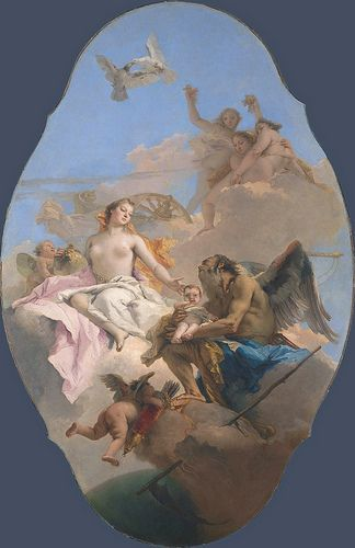 Tiepolo - An Allegory with Venus and Time