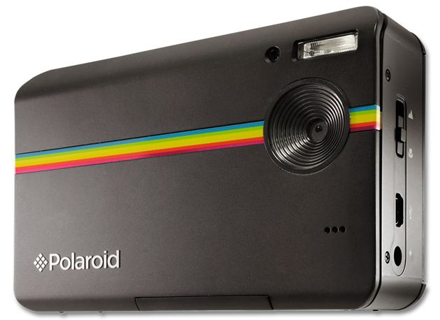 Amazing new Polaroid camera. Didn't know they were still even making cameras