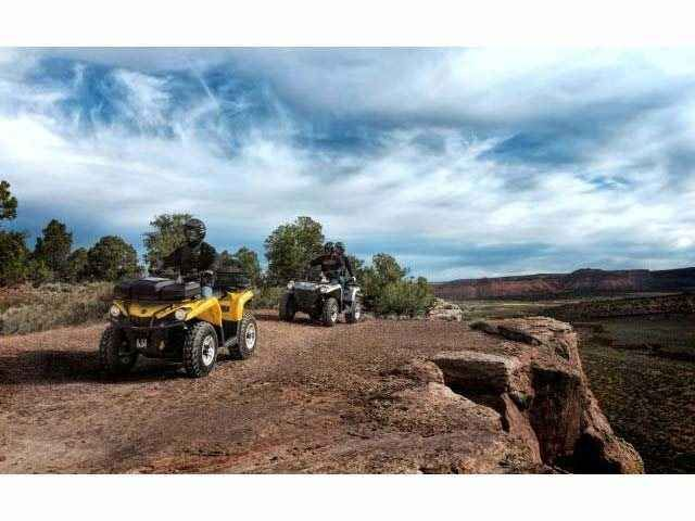 New 2015 Can-Am Outlander L DPS 450 ATVs For Sale in Colorado. 2015 Can-Am Outlander L DPS 450, Raise your expectations, not your price range. Get the all-terrain performance you'd expect from Can-Am® at the most accessible price ever. With the added comfort of Tri-Mode Dynamic Power Steering (DPS).