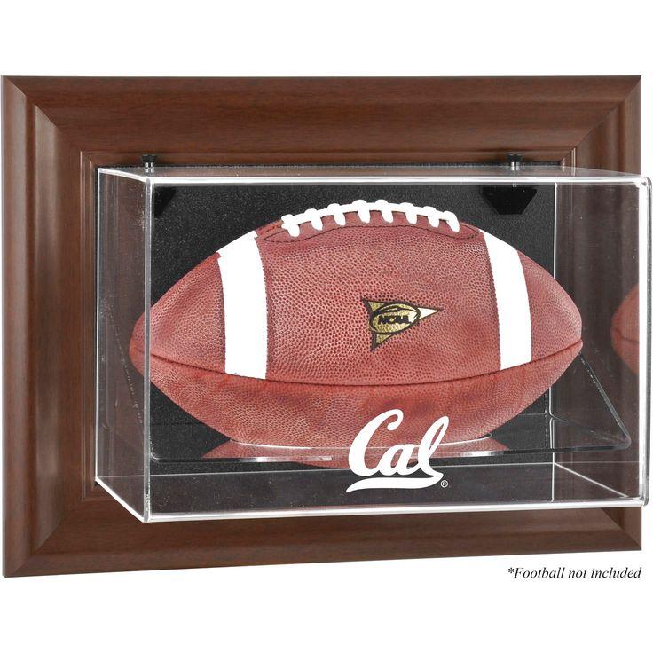 California Bears Fanatics Authentic Brown Framed Wall-Mountable Football Display Case - $79.99