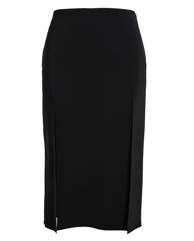 VERSUS | Split Neoprene Pencil Skirt ✿