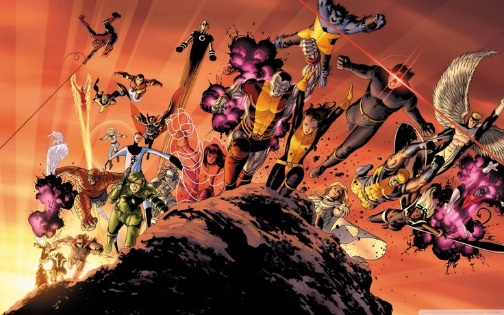 SuperheroesGraphics Novels, Book Art, Joss Whedon, Comics Book, Marvel Comics, Astonishing X Men, Astonishing Xmen, Collection Book, John Cassaday