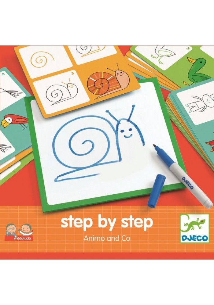 Djeco Step by step: Animo and co