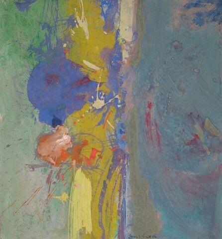 Saul Leiter - flower, 1960