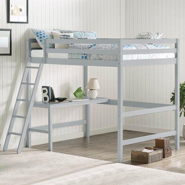 Body Caspian Full Platform Bed Loft Bed Full Platform Bed Loft Bed Frame