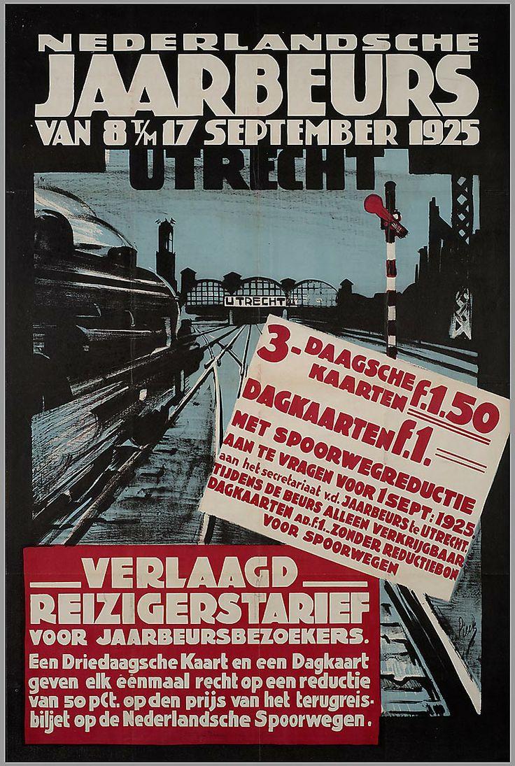 Nederlandsche Jaarbeurs van 8 t/m 17 september 1925 Utrecht, Henri Pieck