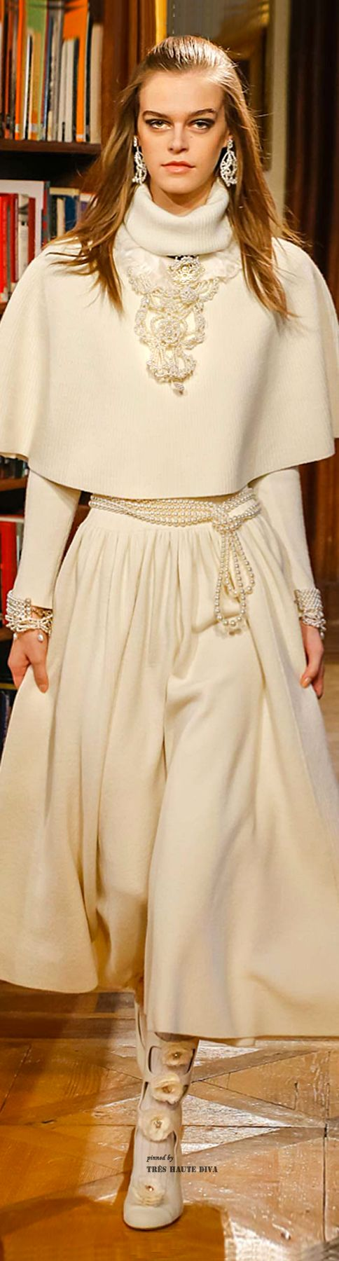Chanel #Modest doesn't mean frumpy. #DressingWithDignity www.ColleenHammond.com www.TotalimageInstitute.com