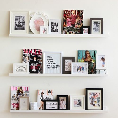 LOVE THIS! quotes, magazines candles