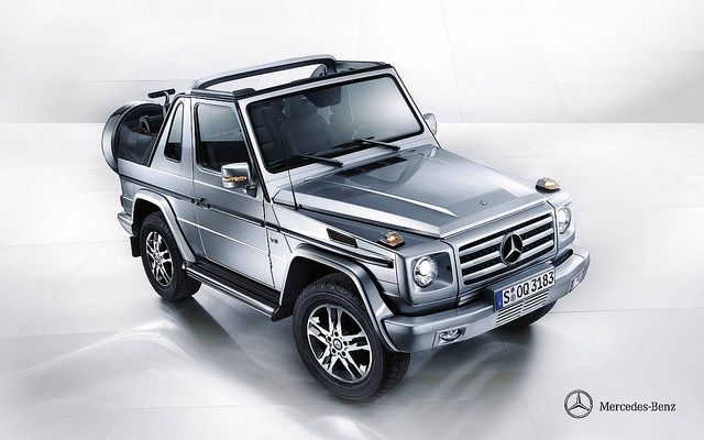 mercedes benz g500 cabrio w463 cutest suv around 2