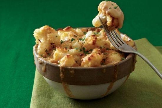 Mac and Cheese-Style Cauliflower
