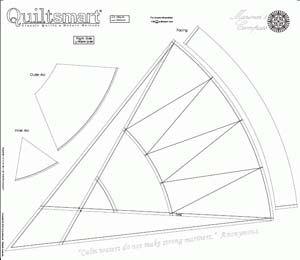 Quiltsmart Mariner's Compass Panels