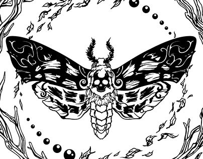 "Check out new work on my @Behance portfolio: ""Moth (Polilla)."" http://be.net/gallery/36253351/Moth-(Polilla)"