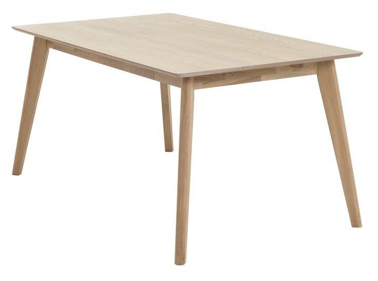 Spisebord KALBY L160/250 lys eg | JYSK