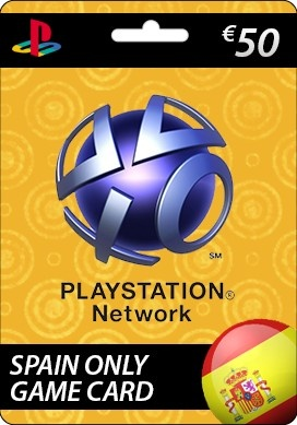 Use Sony Playstation Network Card €50.00 (SPAIN) - PlayStation Network card is an easy and convenient way to make your PlayStation Store purchase without using a credit card. more Info http://www.pcgamesupply.com/buy/Sony-Playstation-Network-5000-Card-SPAIN-ONLY/