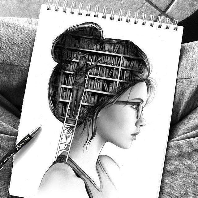 Креативные картинки карандашом