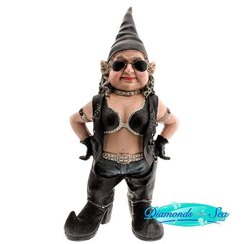 Biker Babe Racer Gnome Now A Day Gnome | Toad Hollow
