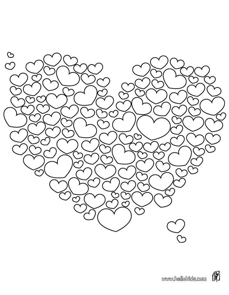 Coloriage cœurs, mais combien y en a-t-il ?, jeux mariage, jeux amour, coloriage cœurs, cœurs,