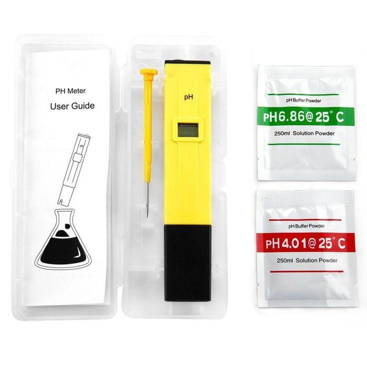 New Mini Digital Pen Type PH Meter PH-009 I Multimeter Tester Hydro PH Meters