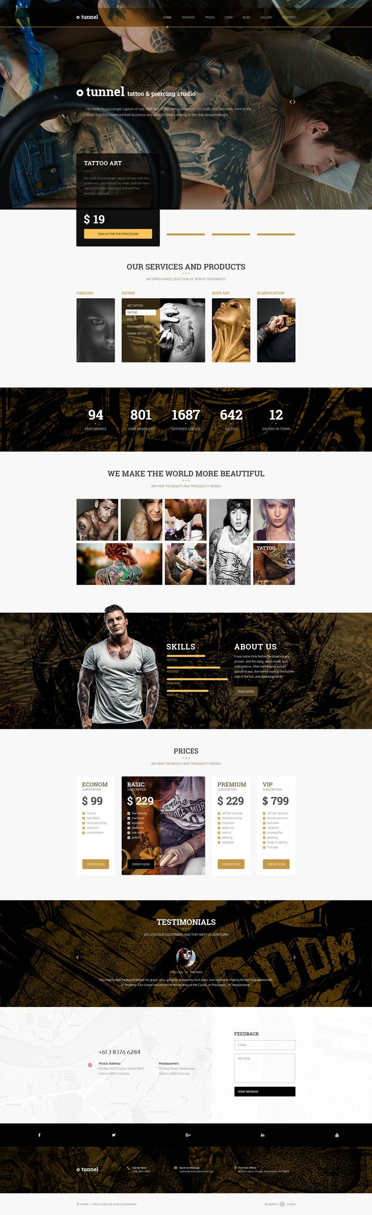 Tunnel — Modern Tattoo and Piercing Studio PSD Template • Download ➝ https://themeforest.net/item/tunnel-modern-tattoo-and-piercing-studio-psd-template/15934355?ref=pxcr