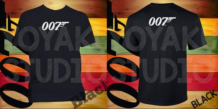 Jual Kaos James Bond 007 (2 sisi cetak) - Yoyaku Shop | Tokopedia
