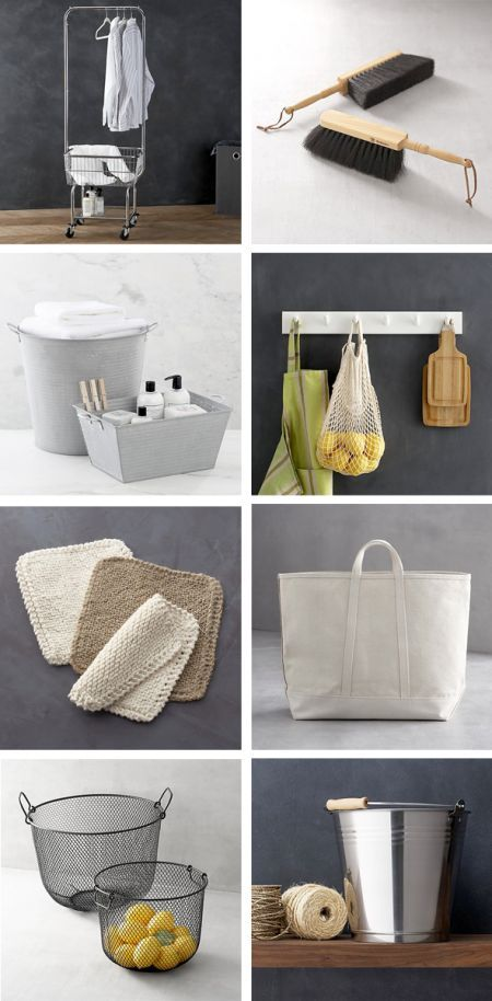 Almost makes me want to clean!   From boxwood clippings_crate and barrel