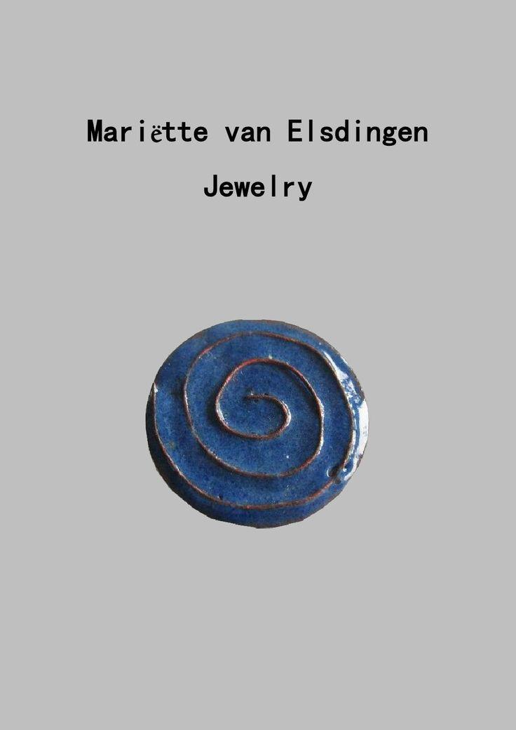 "Mariëtte van Elsdingen - Jewelry portfolio  ""Always searching for beautiful things in life"""