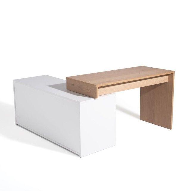 Bureau D Angle Modulable Maddo Bureau Angle Bureau A Domicile Decoration Bureau Travail