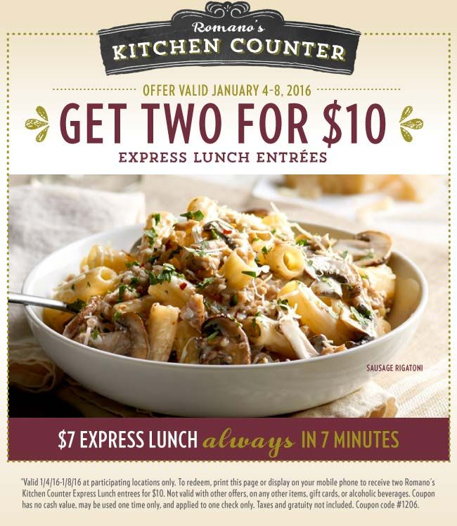 12 best coupons images on pinterest coupon coupons and landing pinned january 6th two lunches for 10 in 7 minutes or free at macaroni fandeluxe Gallery