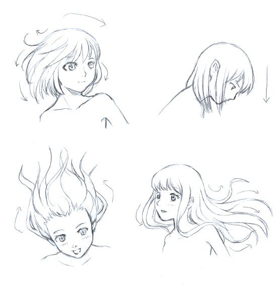 good drawing hair site for beginners