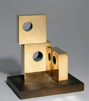 "Barbara Hepworth - ""Three Forms"""