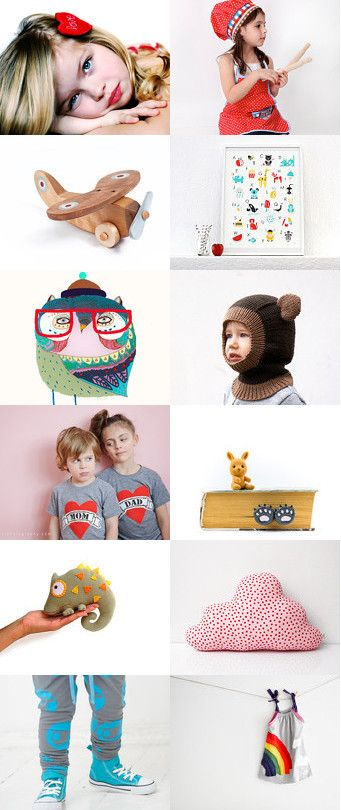 Valentine's Day Gifts for Kids  by AlisaDesign on Etsy--Pinned with TreasuryPin.com