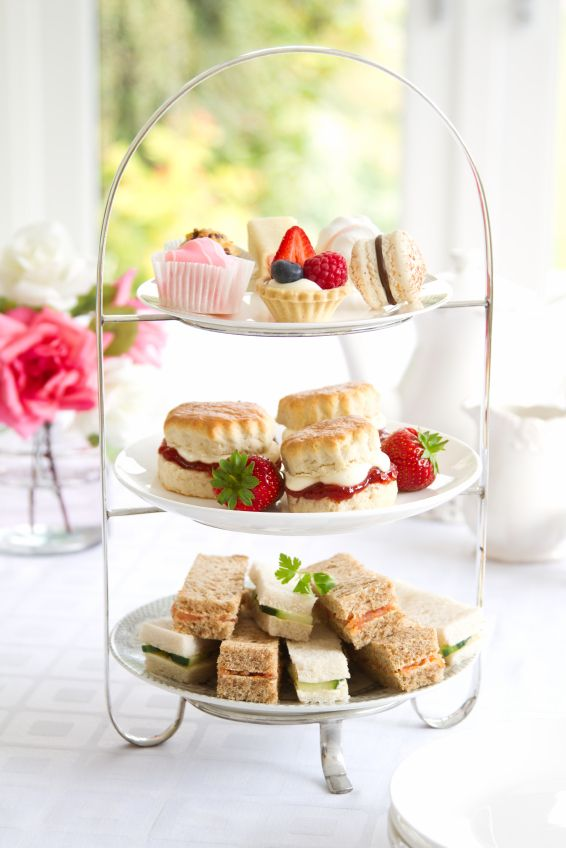 Afternoon tea - many ideas concerning the menu! and pairing teas with food.