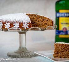 Špaldový škoricový koláčik