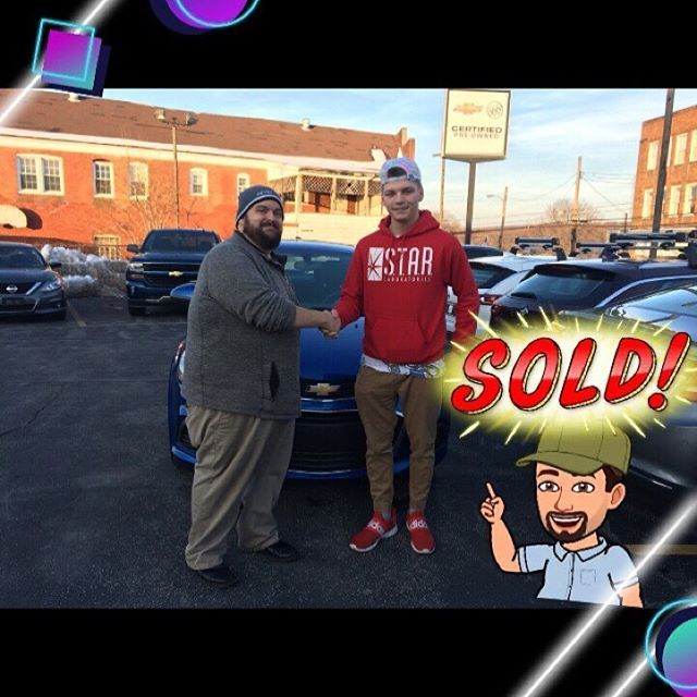 Congratulations Christian Stephens On Your 2017 Chevrolet Sonic Carswithkev Kmasci Chevrolet Sonic Chevrolet Buick