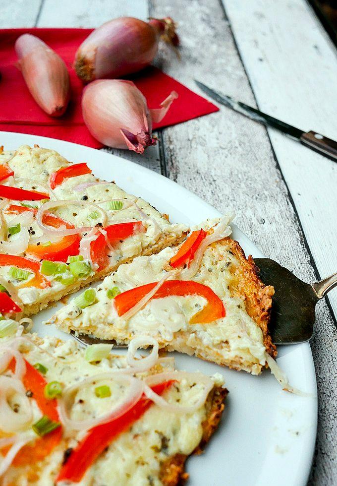 Low Carb Flammkuchen - Gaumenfreundin.de Foodblog mit gesunden Rezepten
