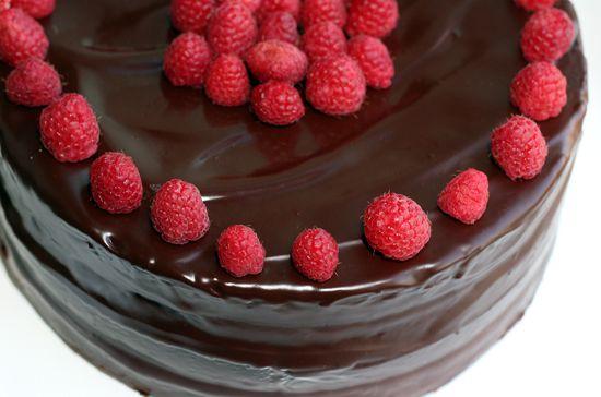 chocolate raspberry cake - Google Search