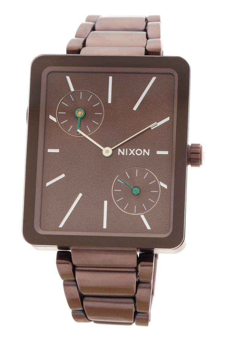Nixon  The Ivy Women's All Brown Watch