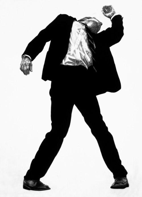 Artista americano Robert Longo, Men in città: Senza titolo, 1979Follow: Contemporary-Art-Blog